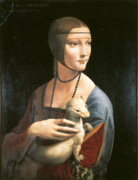 Portrait of Cecilia Gallerani (The Lady with the Ermine)