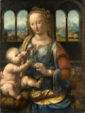 Madonna and Child with a Carnation