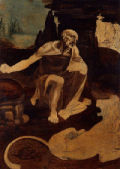 St Jerome praying in the Wilderness