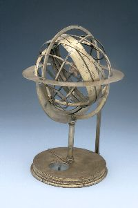 Armillary sphere, Italian c 1500 © The Museum of the History of Science
