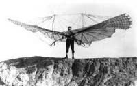 Otto Lilienthal - early glider, 1890s