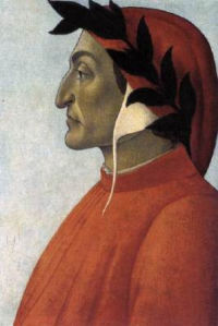 Portrait of Dante, Sandro Botticelli, c 1495