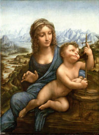 The Madonna of the Yarnwinder (The Lansdowne Madonna) 2001 © Private collection